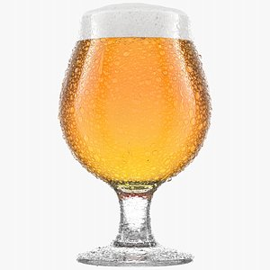 3D model Beer Glass  3