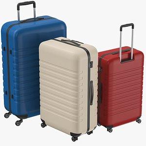 3D Trolley Suitcase Set