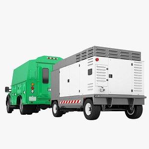 Ford F450 2012 Service Truck 07 3D model