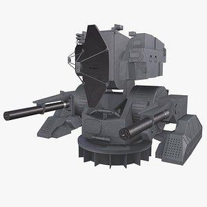 Ship Weapon System Kortik aka Kashtan model