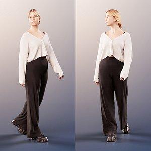 woman walking model