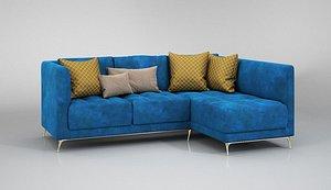 3D FurnitureSofa001