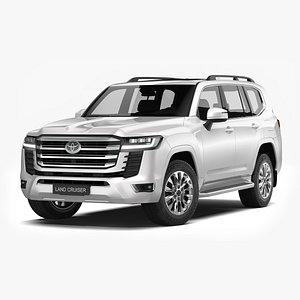 3D Toyota Land Cruiser 2022