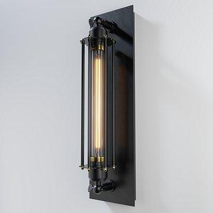 3D lamp retro model