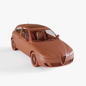 alfa romeo 147 3D model