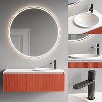 Antonio Lupi Design Binario 03 Vanity Unit Set 3