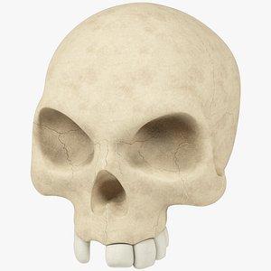 Stylized Skull model