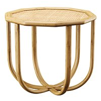 Spider rattan coffee table