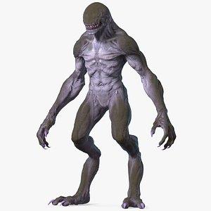 Monster Beast Rigged for Modo 3D