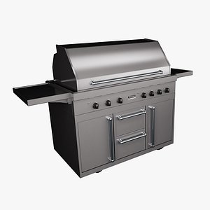 viking outdoor grill 3D model