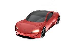 Tesla Roadster CGI 3D Model model