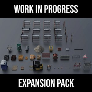 Work In Progress - Expansion Pack - All Formats 3D