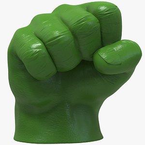 3D Hulk Hand Fist