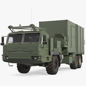 command vehicle 50k6 vityaz 3D model