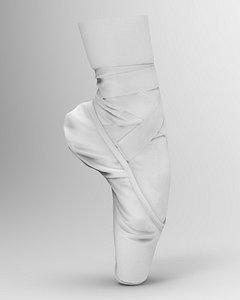 ballet shoe 3D model