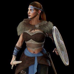 character fantasy model