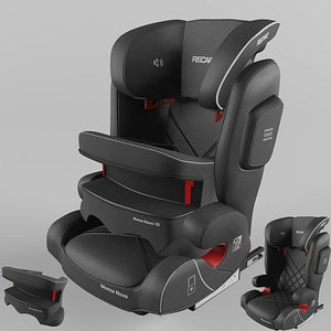 Recaro Monza Nova IS Children Car Seat Core Performance Black model