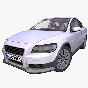 hatchback hatch 3-door 3D model