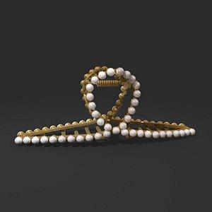 3D hairpin hair pin