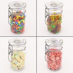 candy glass 3D model