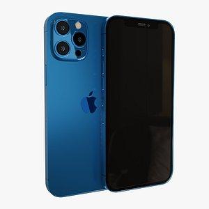 3D model iPhone 12 Pro Max
