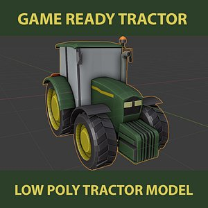 tractor agricultural model