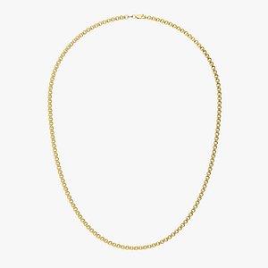 Chain Necklace NL008-0.5 3D model