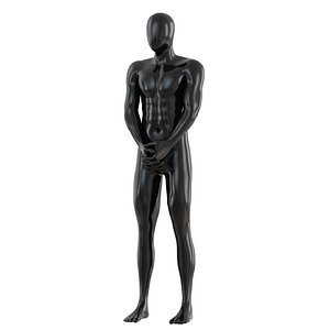 man mannequin abstract 3D