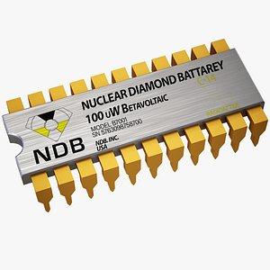 - nuclear diamond battery 3D