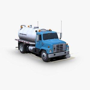 International 1754 Water truck 3D model