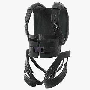 Backpack Parachute 3D