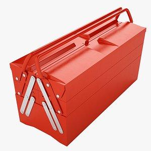 3D Garage Steel Tool Box 01