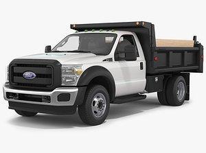 3D Ford Super Duty 2016 F550 DumpTruck