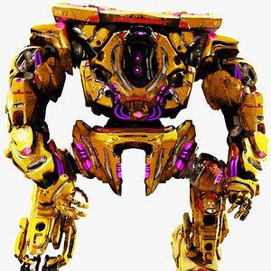 3D Robot Mech Warrior
