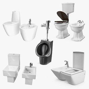 bidets 2 toilet 3D model