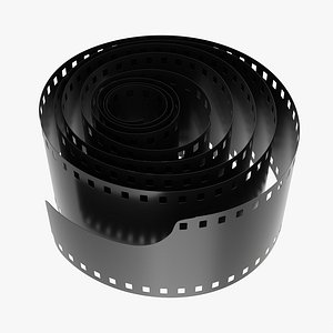 3D Photographic film roll model