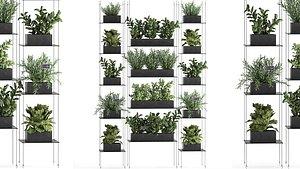 vertical garden 3D