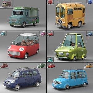 3D Cartoon Car Collection V1 model