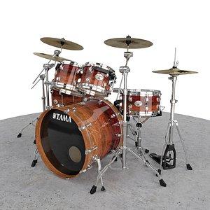 Tama Starclassic Drum Kits 3D model