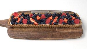 3D model Fruit tart
