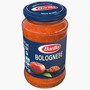Barilla Meat Bolognese Sauce 3D