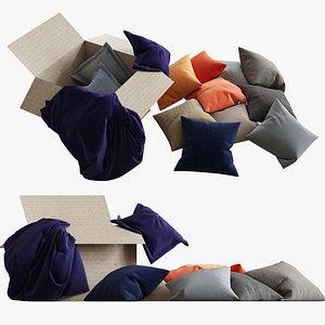 pillows 44 3d model