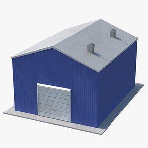 3D Industrial Site Building 05