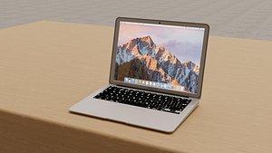 3D apple macbook mac