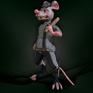 Bully Rat 3D model