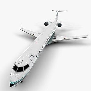 3D model airlines bombardier crj 700