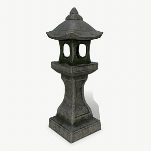 lantern stone 3D