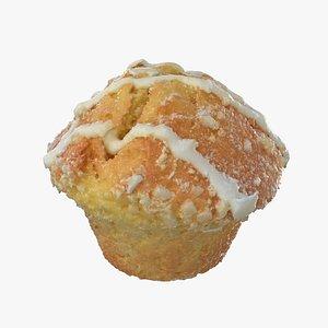 Lemon Muffin 3D