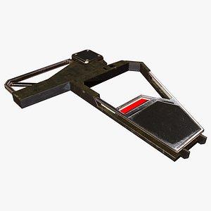 Wing Frame C 3D model