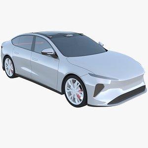 3D Nio ET7 2021 exterior